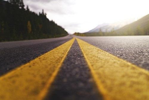 route rectiligne